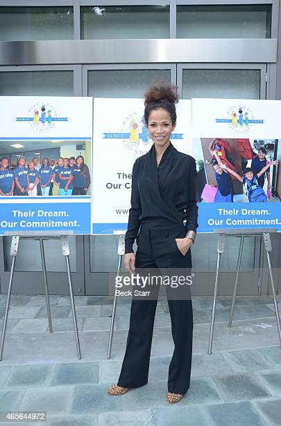 Actress Sherri Saum attends the I Have A Dream Foundation Los Angeles Annual Dreamer Dinner at Skirball Cultural Center on March 8 2015 in Los...