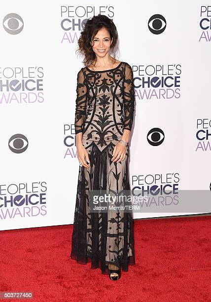 Actress Sherri Saum attends the People's Choice Awards 2016 at Microsoft Theater on January 6 2016 in Los Angeles California