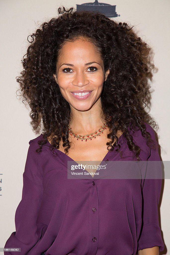 Actress <a gi-track='captionPersonalityLinkClicked' href=/galleries/search?phrase=Sherri+Saum&family=editorial&specificpeople=584078 ng-click='$event.stopPropagation()'>Sherri Saum</a> attends The Prime Time Closet - A History of Gays and Lesbians on TV at Academy of Television Arts & Sciences on October 28, 2013 in North Hollywood, California.