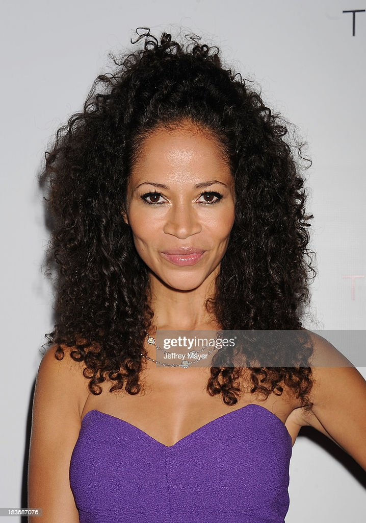 Actress <a gi-track='captionPersonalityLinkClicked' href=/galleries/search?phrase=Sherri+Saum&family=editorial&specificpeople=584078 ng-click='$event.stopPropagation()'>Sherri Saum</a> attends the Tacori's Annual Club Tacori 2013 Event at Greystone Manor Supperclub on October 8, 2013 in West Hollywood,
