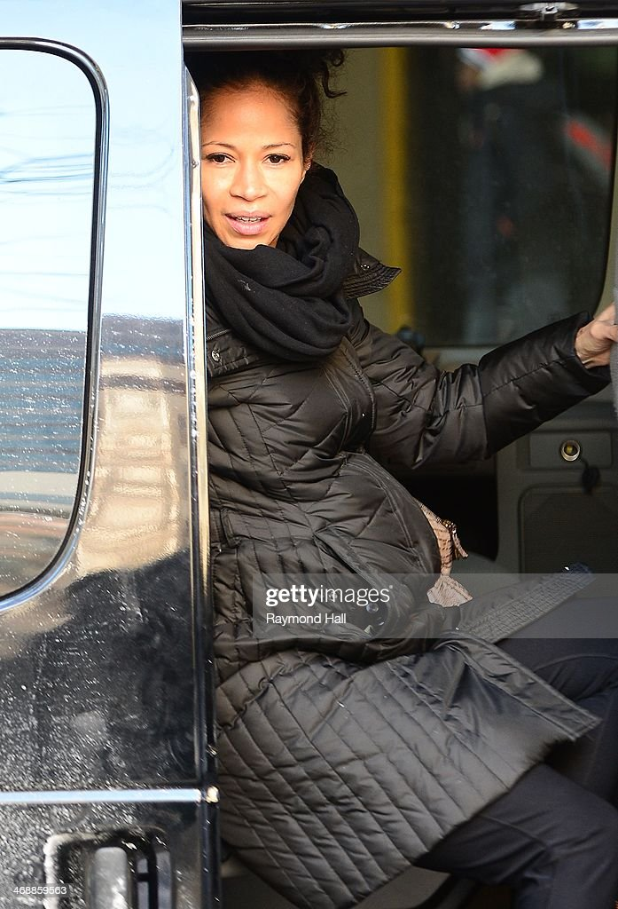 Actress Sherri Saum is seen in Soho on February 11, 2014 in New York City.