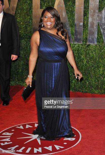 Actress Sherri Shepard arrives at the 2010 Vanity Fair Oscar Party hosted by Graydon Carter held at Sunset Tower on March 7 2010 in West Hollywood...