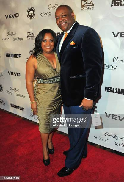 Actress Sherri Shepherd and Lamar Sally arrive to the National Basketball Players Association AllStar Gala on February 19 2011 in Los Angeles...