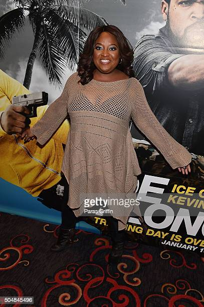 Actress Sherri Shepherd attends 'Ride Along 2' advance screening at Regal Cinemas Atlantic Station on January 13 2016 in Atlanta Georgia
