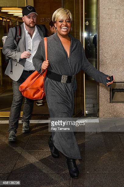 Actress Sherri Shepherd leaves the Sirius XM Studios on October 30 2014 in New York City