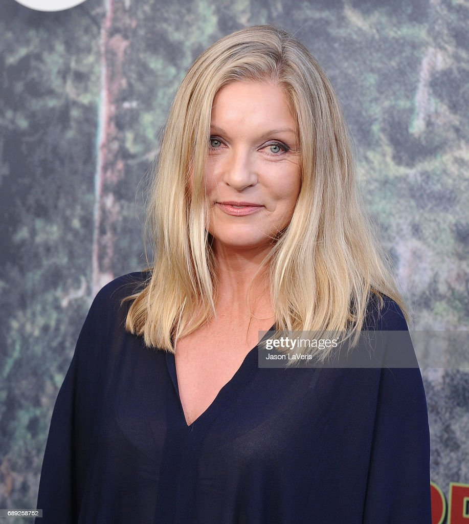 Actress Sheryl Lee attends the premiere of 'Twin Peaks' at Ace Hotel on May 19, 2017 in Los Angeles, California.
