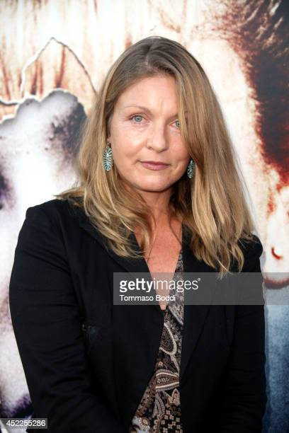 Actress Sheryl Lee attends the 'Twin Peaks The Entire Mystery' BluRay/DVD release party and screening held at the Vista Theatre on July 16 2014 in...
