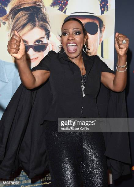 Actress Sheryl Lee Ralph arrives at the premiere of 'Just Getting Started' at ArcLight Hollywood on December 7 2017 in Hollywood California
