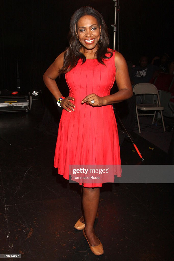 Actress Sheryl Lee Ralph attends the live casting auditions for new reality show 'Too Fat For Fame' held at The Complex Hollywood on August 28, 2013 in Los Angeles, California.