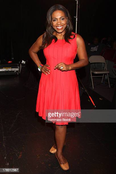 Actress Sheryl Lee Ralph attends the live casting auditions for new reality show 'Too Fat For Fame' held at The Complex Hollywood on August 28 2013...