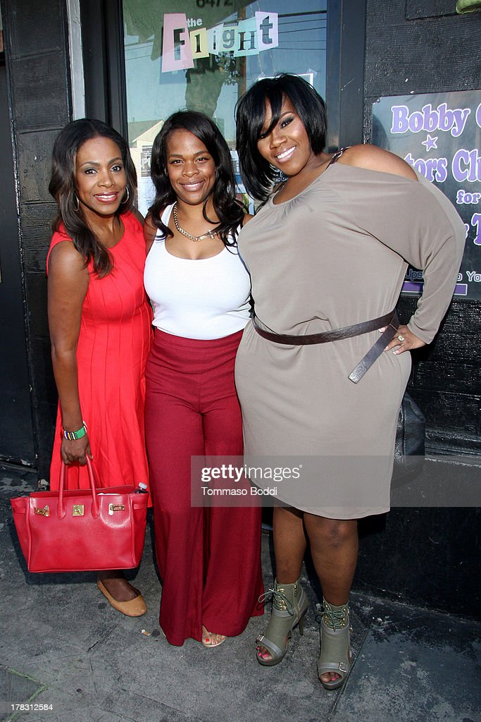 Actress <a gi-track='captionPersonalityLinkClicked' href=/galleries/search?phrase=Sheryl+Lee+Ralph&family=editorial&specificpeople=214083 ng-click='$event.stopPropagation()'>Sheryl Lee Ralph</a>, tv personality Monique Jackson and singer Kelly Price attend the live casting auditions for new reality show 'Too Fat For Fame' held at The Complex Hollywood on August 28, 2013 in Los Angeles, California.