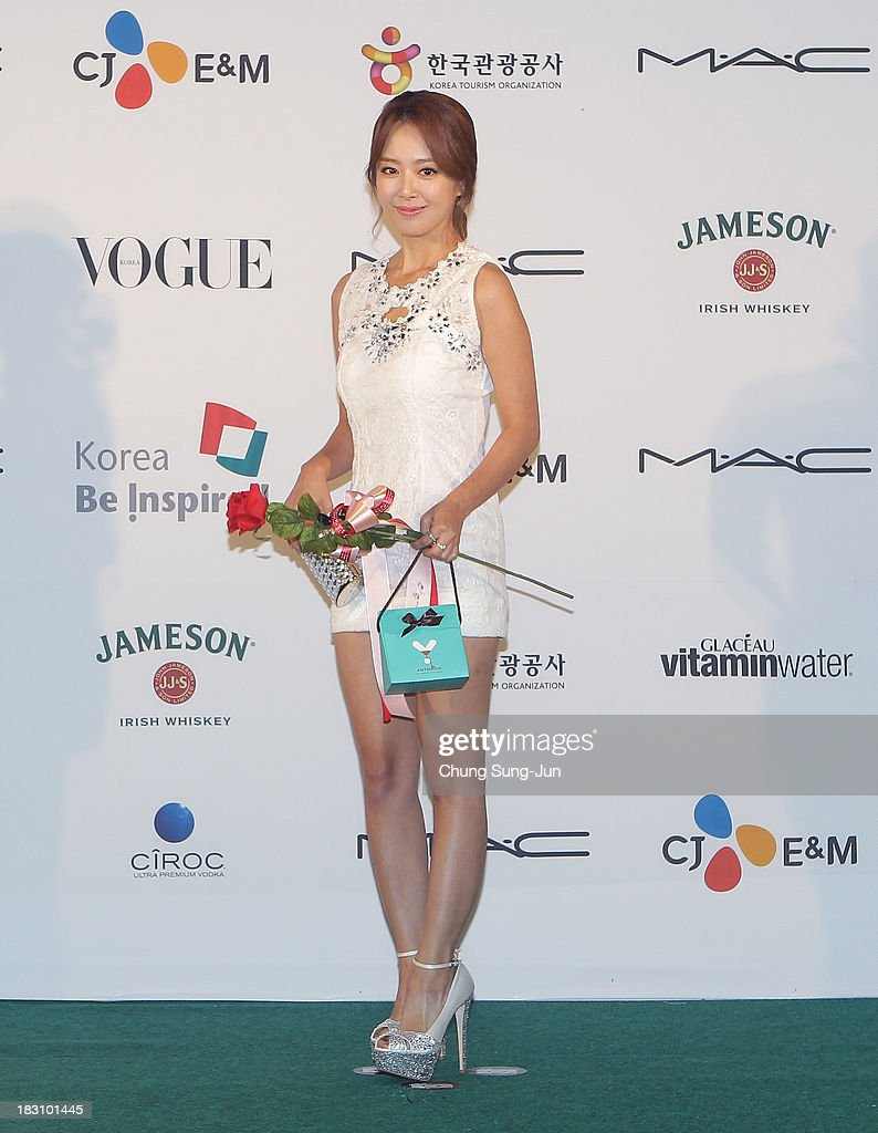 Actress Shin Ji-Soo arrives for the APAN star road during the 18th Busan International Film Festival on October 4, 2013 in Busan, South Korea.