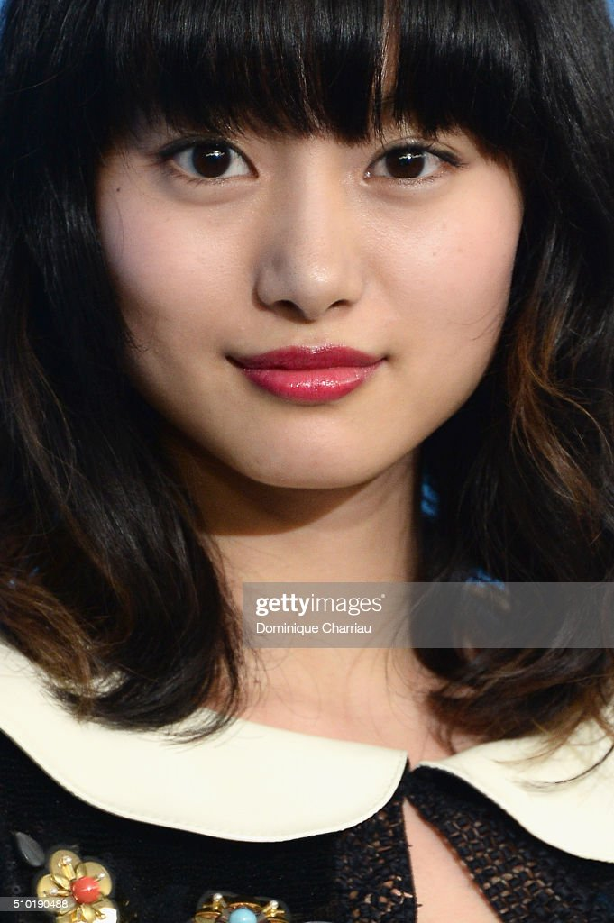 Actress <a gi-track='captionPersonalityLinkClicked' href=/galleries/search?phrase=Shiori+Kutsuna&family=editorial&specificpeople=7059925 ng-click='$event.stopPropagation()'>Shiori Kutsuna</a> attends the 'While the Women Are Sleeping' photo call during the 66th Berlinale International Film Festival Berlin at Grand Hyatt Hotel on February 14, 2016 in Berlin, Germany.