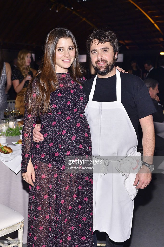 Actress Shiri Appleby and chef Jon Shook attend the 2015 Baby2Baby Gala presented by MarulaOil & Kayne Capital Advisors Foundation honoring Kerry Washington at 3LABS on November 14, 2015 in Culver City, California.