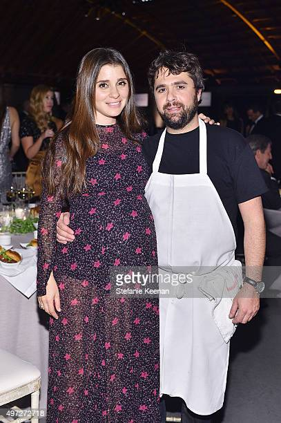 Actress Shiri Appleby and chef Jon Shook attend the 2015 Baby2Baby Gala presented by MarulaOil Kayne Capital Advisors Foundation honoring Kerry...