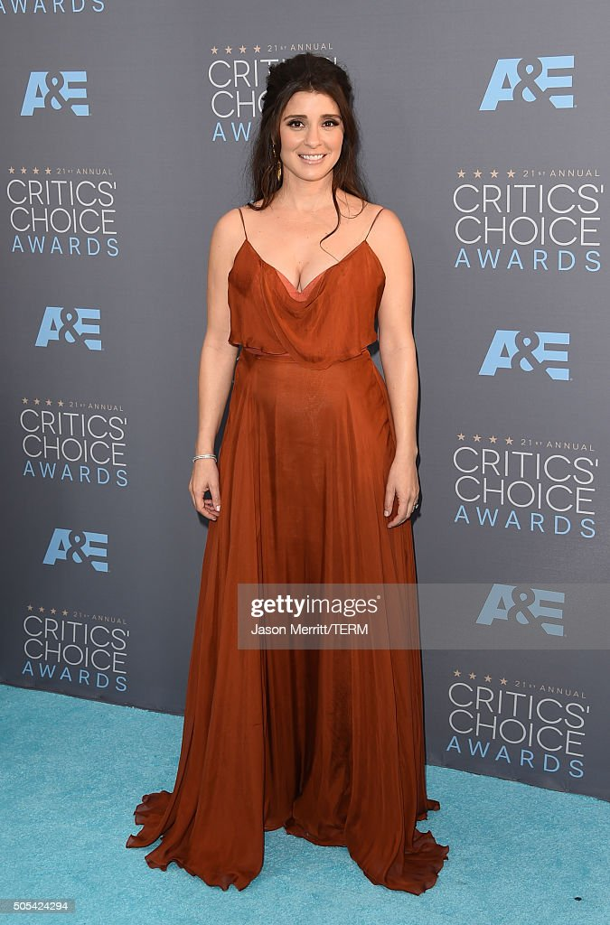 Actress Shiri Appleby attends the 21st Annual Critics' Choice Awards at Barker Hangar on January 17 2016 in Santa Monica California