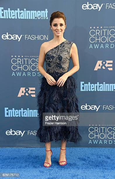 Actress Shiri Appleby attends The 22nd Annual Critics' Choice Awards at Barker Hangar on December 11 2016 in Santa Monica California