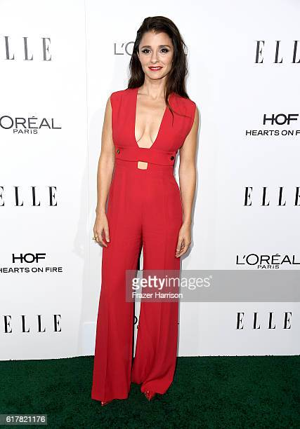 Actress Shiri Appleby attends the 23rd Annual ELLE Women In Hollywood Awards at Four Seasons Hotel Los Angeles at Beverly Hills on October 24 2016 in...