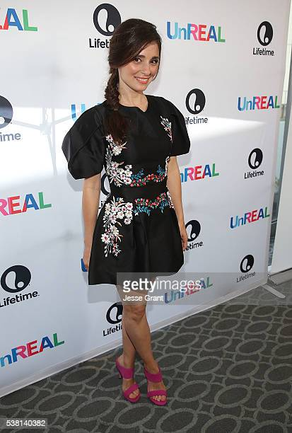 Actress Shiri Appleby attends The Emmy FYC Screening With The 'UnREAL' Cast and Executive Producers hosted by Lifetime at Harmony Gold Theatre on...