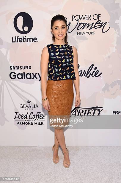 Actress Shiri Appleby attends Variety's Power of Women New York presented by Lifetime at Cipriani 42nd Street on April 24 2015 in New York City