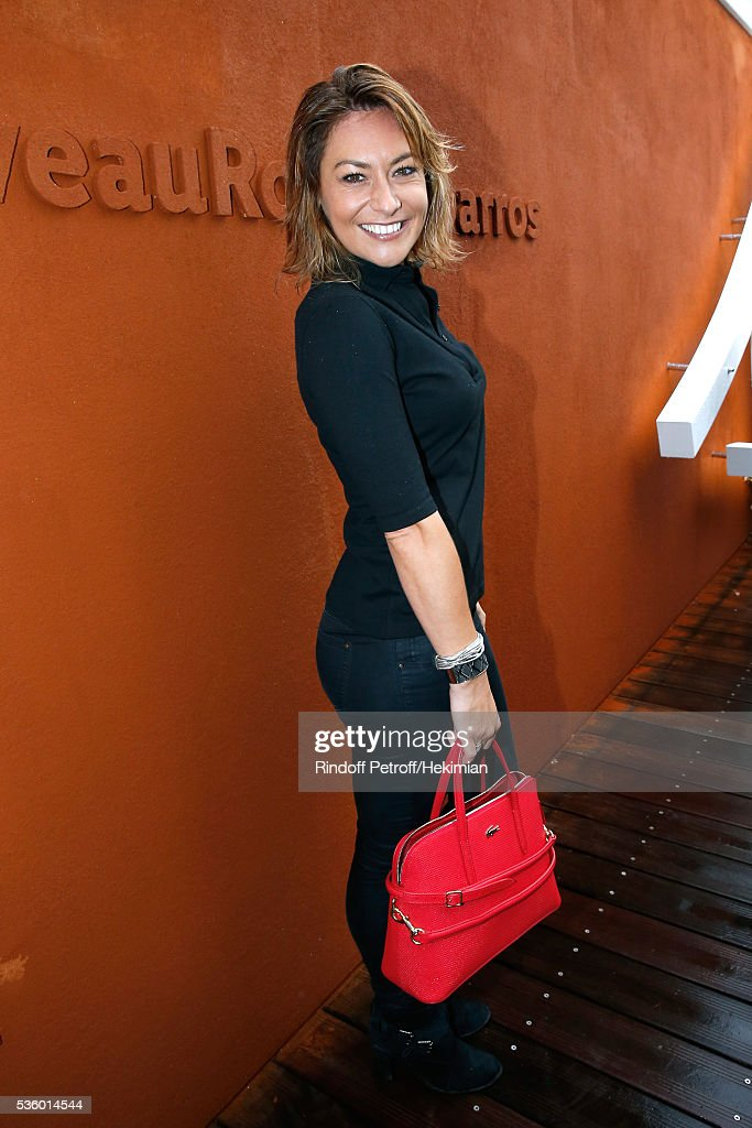 Actress <a gi-track='captionPersonalityLinkClicked' href=/galleries/search?phrase=Shirley+Bousquet&family=editorial&specificpeople=233802 ng-click='$event.stopPropagation()'>Shirley Bousquet</a> attends Day Ten of the 2016 French Tennis Open at Roland Garros on May 31, 2016 in Paris, France.
