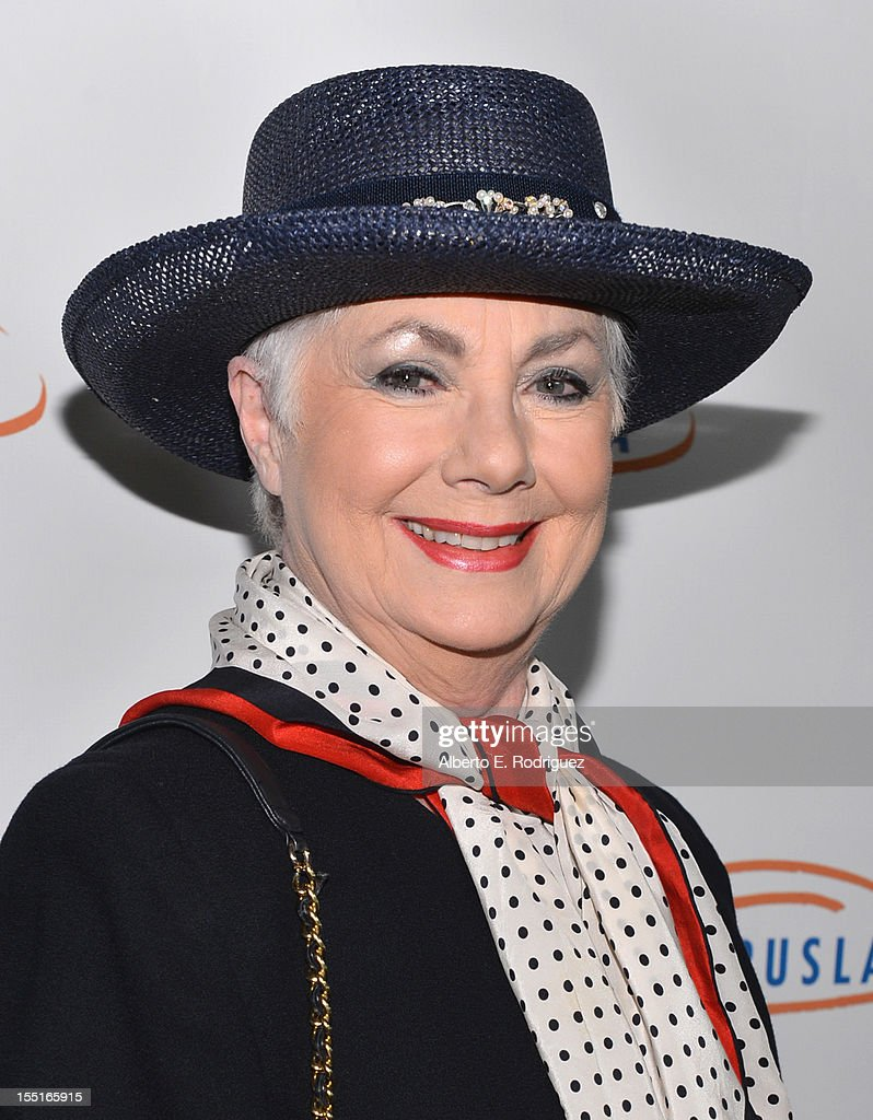 Actress Shirley Jones arrives to the Lupus LA 10th Anniversary Hollywood Bag Ladies Luncheon at Regent Beverly Wilshire Hotel on November 1, 2012 in Beverly Hills, California.