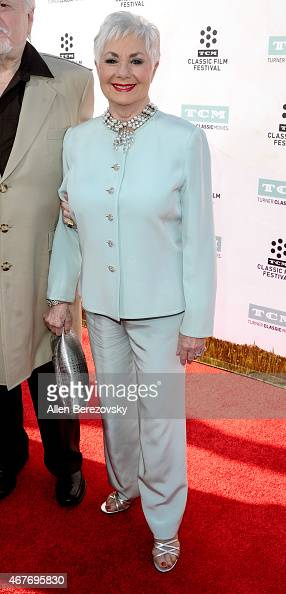 Actress Shirley Jones attends the 2015 TCM Classic Film Festival's opening night gala premiere of 50th Anniversary of 'The Sound Of Music' at TCL...