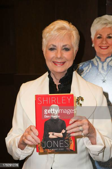 Actress Shirley Jones attends the book signing for 'Shirley Jones a Memoir' at Barnes Noble bookstore at The Grove on August 1 2013 in Los Angeles...