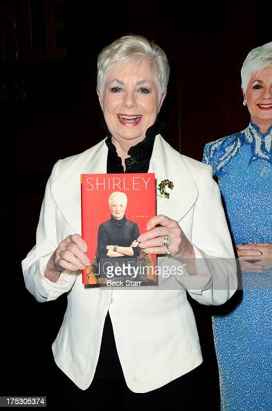 Actress Shirley Jones signs copies of her new book 'Shirley Jones A Memoir' at Barnes Noble bookstore at The Grove on August 1 2013 in Los Angeles...
