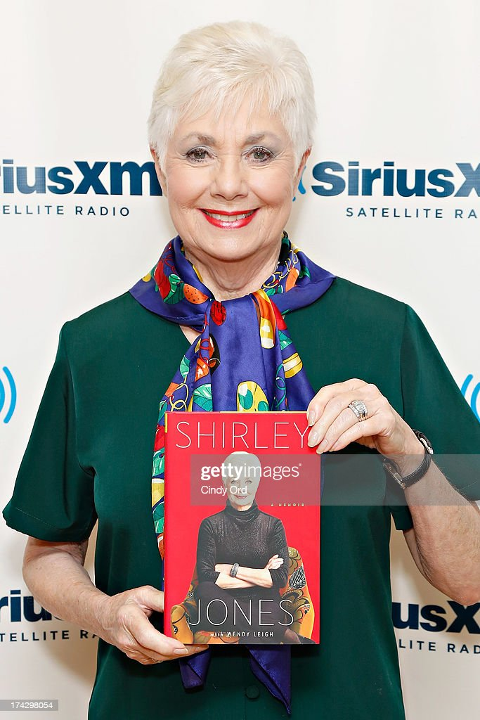 Actress <a gi-track='captionPersonalityLinkClicked' href=/galleries/search?phrase=Shirley+Jones&family=editorial&specificpeople=214776 ng-click='$event.stopPropagation()'>Shirley Jones</a> visits the SiriusXM Studios on July 23, 2013 in New York City.