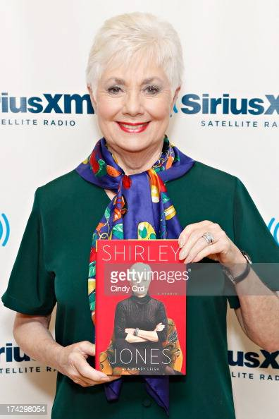 Actress Shirley Jones visits the SiriusXM Studios on July 23 2013 in New York City