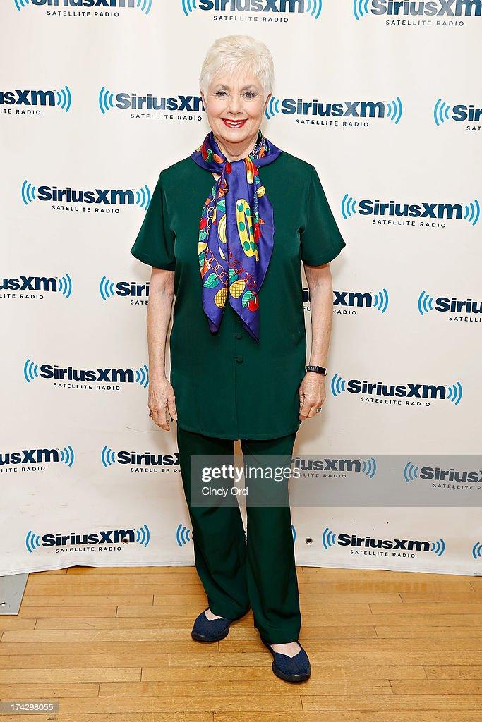 Actress Shirley Jones visits the SiriusXM Studios on July 23, 2013 in New York City.
