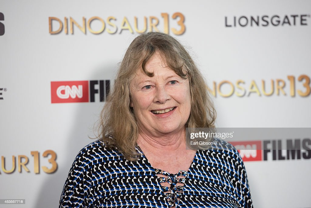 Actress <a gi-track='captionPersonalityLinkClicked' href=/galleries/search?phrase=Shirley+Knight&family=editorial&specificpeople=550323 ng-click='$event.stopPropagation()'>Shirley Knight</a> attends the premiere of Lionsgate and CNN Film 'Dinosaur 13' at DGA Theater on August 12, 2014 in Los Angeles, California.
