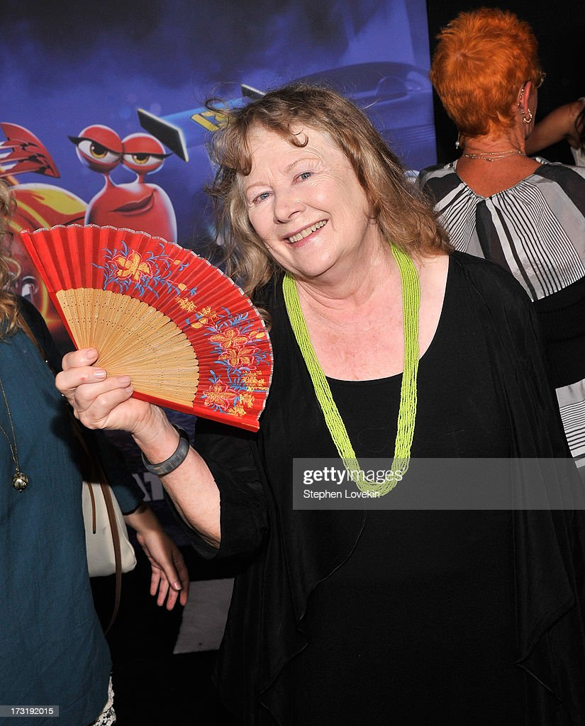 Actress <a gi-track='captionPersonalityLinkClicked' href=/galleries/search?phrase=Shirley+Knight&family=editorial&specificpeople=550323 ng-click='$event.stopPropagation()'>Shirley Knight</a> attends the 'Turbo' New York Premiere at AMC Loews Lincoln Square on July 9, 2013 in New York City.