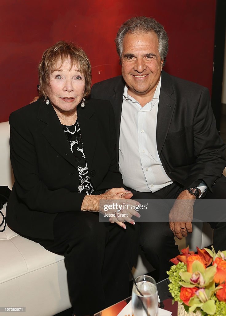 Actress Shirley MacLaine and Twentieth Century Fox CEO and Chairman <a gi-track='captionPersonalityLinkClicked' href=/galleries/search?phrase=Jim+Gianopulos&family=editorial&specificpeople=211611 ng-click='$event.stopPropagation()'>Jim Gianopulos</a> attend Target Presents AFI's Night at the Movies at ArcLight Cinemas on April 24, 2013 in Hollywood, California.