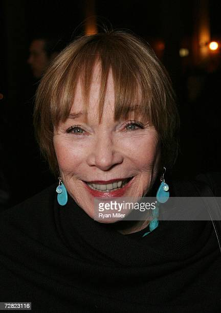 Actress Shirley MacLaine arrives at CTG's Ahmanson Theatre for the Los Angeles Premiere of Matthew Bourns newest dance theatre production 'Edward...