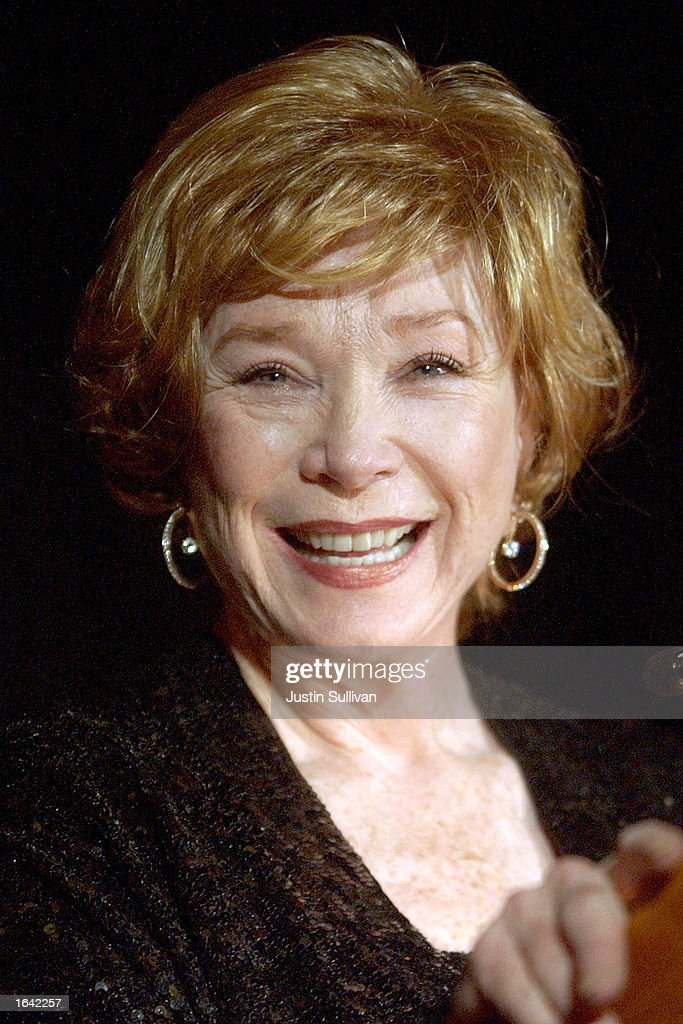 Actress Shirley MacLaine speaks at a fundraiser for the American Foundation for AIDS research November 13, 2002 in San Francisco, California. The annual event featured a silent auction and dinner prepared by celebrity chef Laurent Gras of the Fifth Floor restaurant.