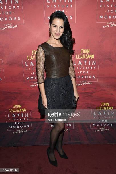Actress Shirley Rumierk attends 'Latin History For Morons' Broadway Opening Night at Studio 54 on November 15 2017 in New York City