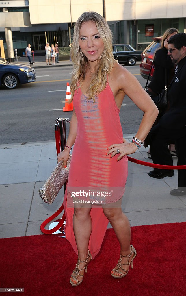 Actress Shirly Brener attends the premiere of 'Blue Jasmine' hosted by the AFI & Sony Picture Classics at the AMPAS Samuel Goldwyn Theater on July 24, 2013 in Beverly Hills, California.