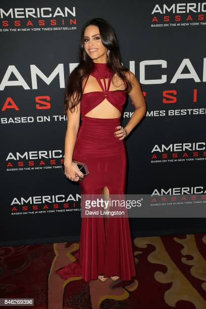 Actress Shiva Negar attends a Screening of CBS Films and Lionsgate's 'American Assassin' at TCL Chinese Theatre on September 12 2017 in Hollywood...