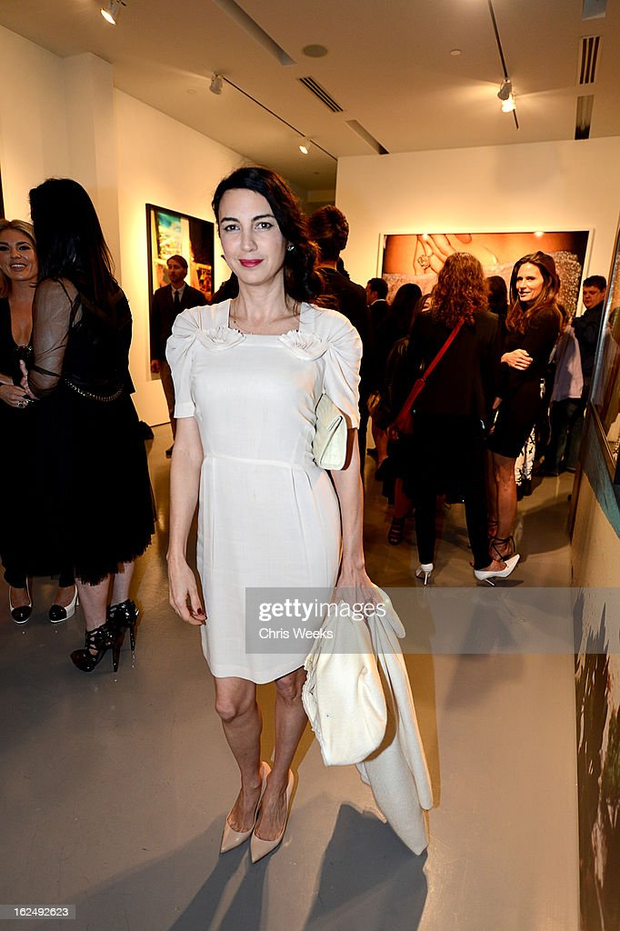 Actress Shiva Rose attends a Private Reception For Mario Testino at PRISMon February 23, 2013 in West Hollywood, California.