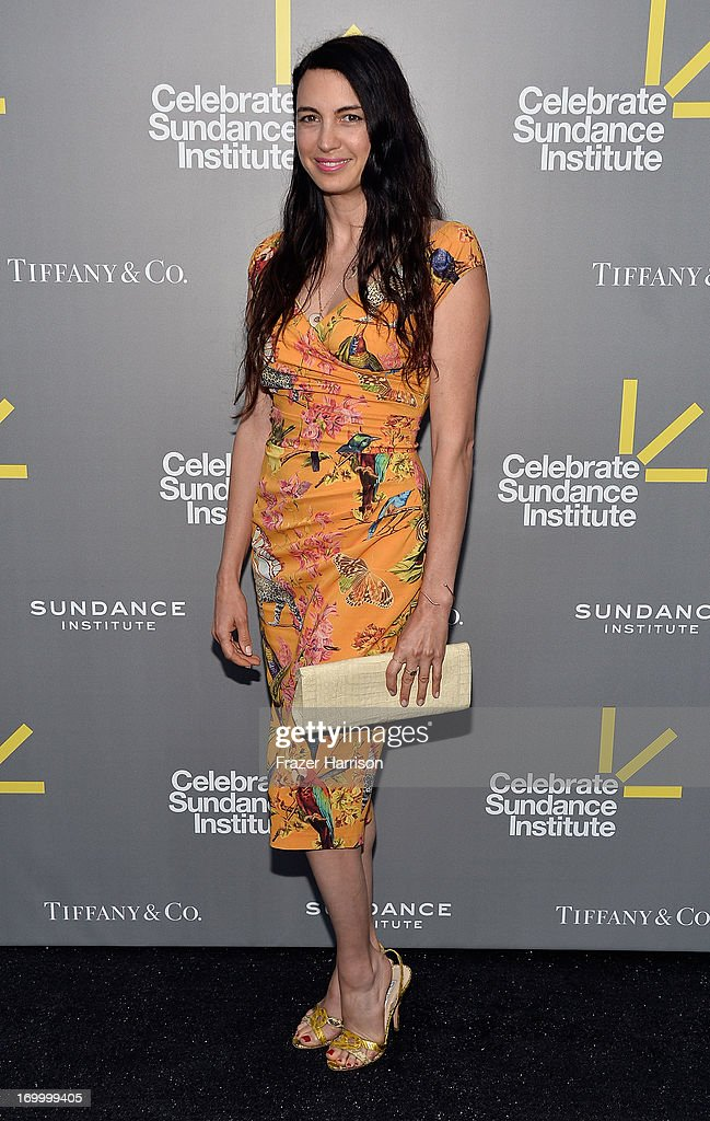 Actress Shiva Rose attends the 2013 'Celebrate Sundance Institute' Los Angeles Benefit hosted by Tiffany & Co. at The Lot on June 5, 2013 in West Hollywood, California.