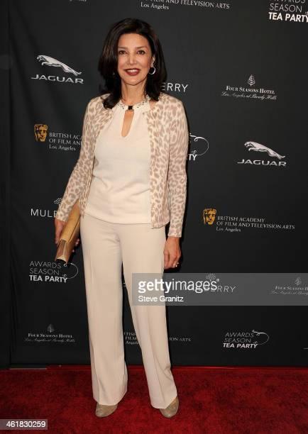 Actress Shohreh Aghdashloo arrives at the BAFTA Los Angeles Awards Season Tea Party at the Four Seasons Hotel Los Angeles at Beverly Hills on January...
