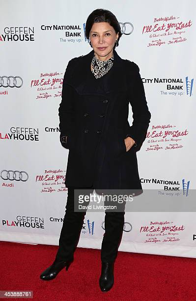 Actress Shohreh Aghdashloo attends opening night of Bette Midler in 'I'll Eat You Last A Chat with Sue Mengers' at the Geffen Playhouse on December 5...