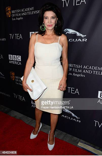 Actress Shohreh Aghdashloo attends the 2014 BAFTA Los Angeles TV Tea presented by BBC America And Jaguar at SLS Hotel on August 23 2014 in Beverly...