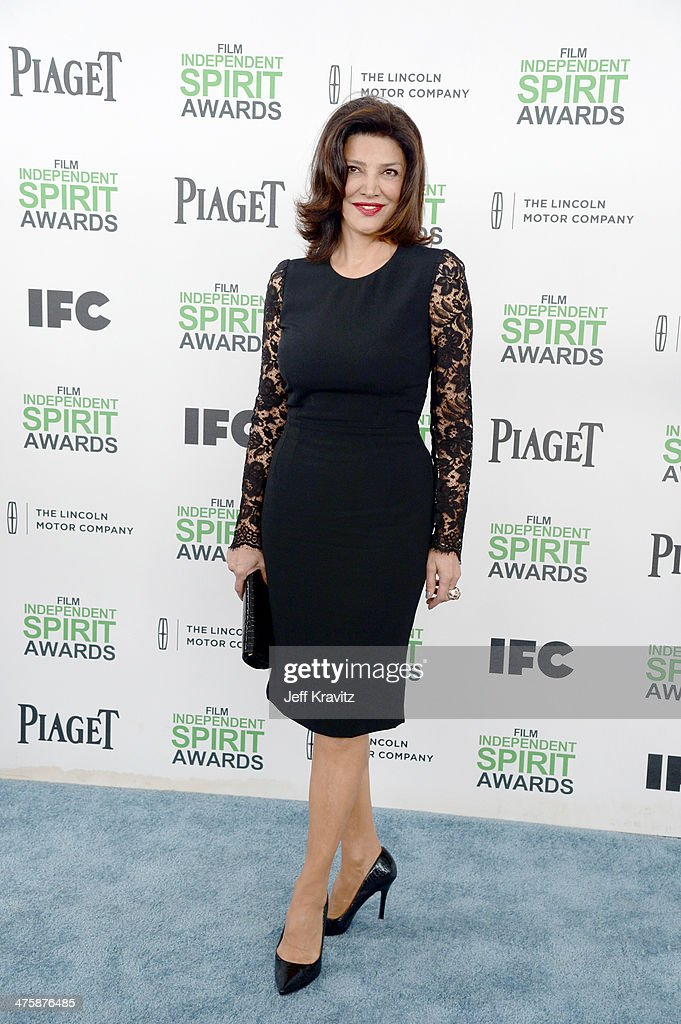 Actress Shohreh Aghdashloo attends the 2014 Film Independent Spirit Awards on March 1, 2014 in Santa Monica, California.