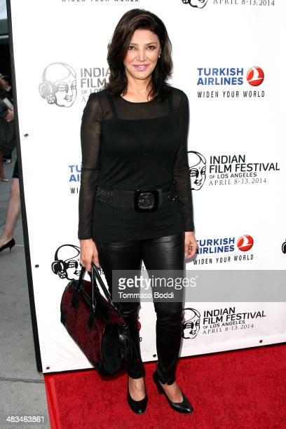 Actress Shohreh Aghdashloo attends the 2014 Indian Film Festival of Los Angeles opening night screening of 'Sold' held at the ArcLight Cinemas on...