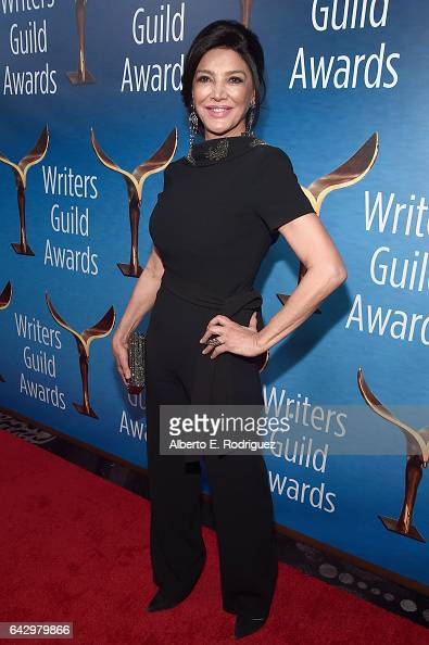 Actress Shohreh Aghdashloo attends the 2017 Writers Guild Awards LA Ceremony at The Beverly Hilton Hotel on February 19 2017 in Beverly Hills...