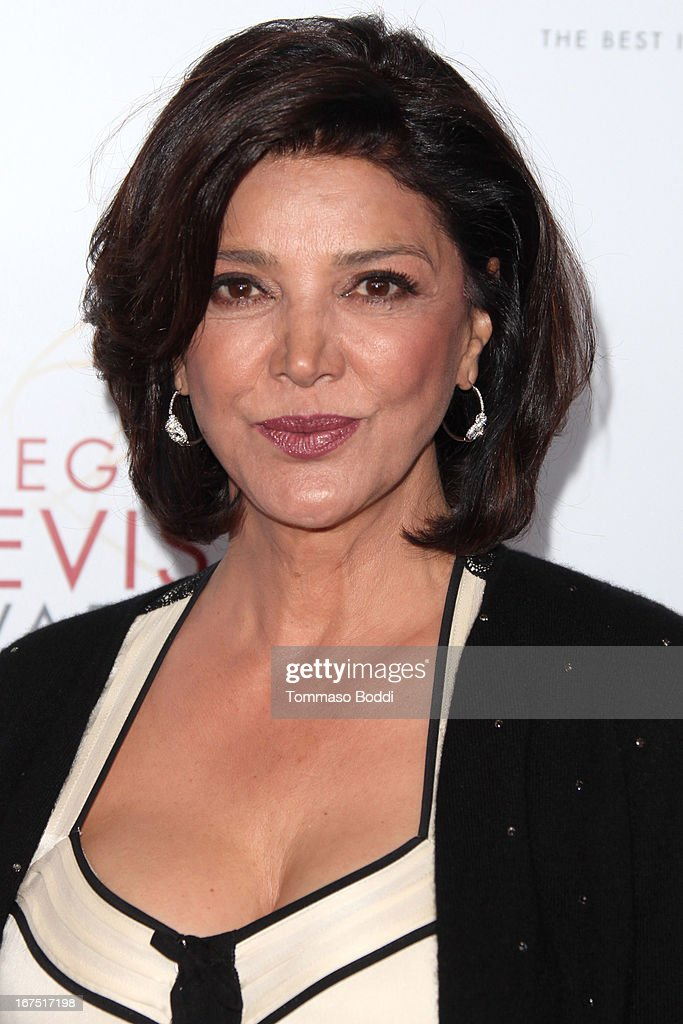 Actress Shohreh Aghdashloo attends the 34th College Television Awards Gala held at the JW Marriott Los Angeles at L.A. LIVE on April 25, 2013 in Los Angeles, California.