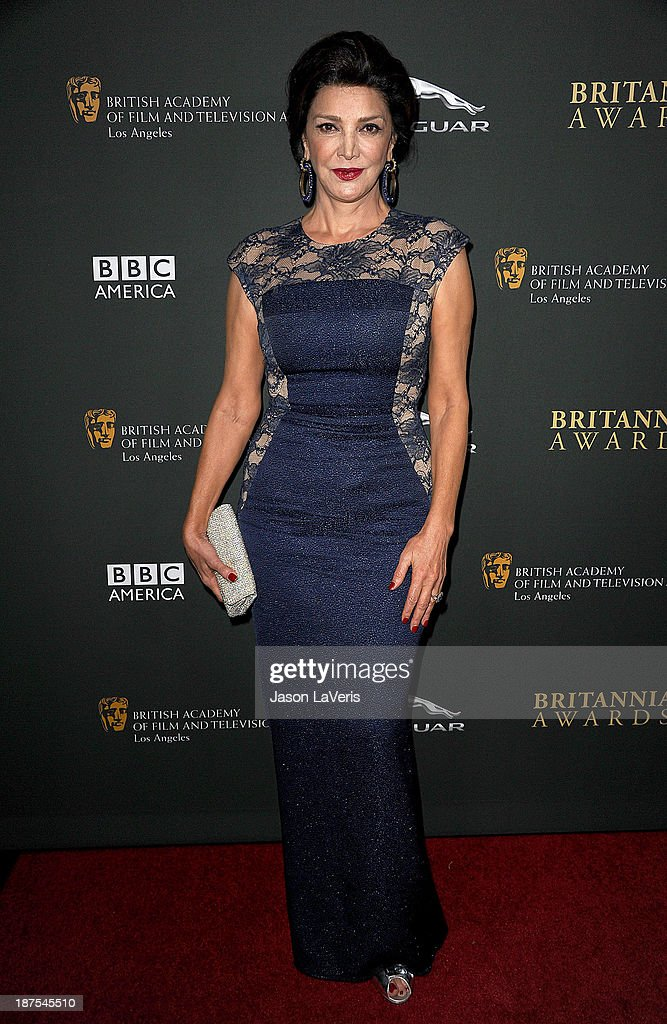 Actress Shohreh Aghdashloo attends the BAFTA Los Angeles Britannia Awards at The Beverly Hilton Hotel on November 9, 2013 in Beverly Hills, California.